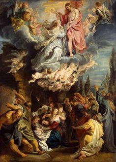 https://flic.kr/p/qSuWSQ | Coronation of the Virgin | 1609-1611. Oil on canvas. 106 x 78 cm. The State Hermitage Museum, Saint Petersburg. 1703.