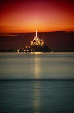 Monte San Michel, Francia