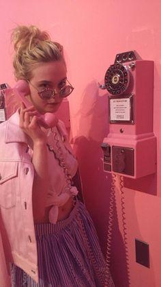 Elle Fanning at the Museum of Ice Cream June 2017
