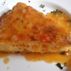 Tortilla en salsa de comino en el bar Postiguillo de Sevilla: http://puturru.com/bar-es/postiguillo