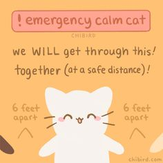 It can be scary right now with the coronavirus affecting so many of our lives, and I'm sending you all lots of positive and calm energy. Things may be bad, but we will get through it with thoughtful. Cute Inspirational Quotes, Cute Quotes, Kawaii Quotes, Motivational, Cheer Up Quotes, Cheer Up Meme, Positive Vibes, Positive Quotes, Trauma