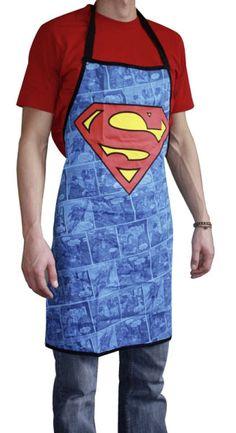 Superman Logo Delantal | Delantales
