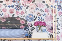 English Garden Wallpaper from Caitlin Wilson