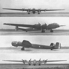The Heinkel He 274 was a German heavy bomber with pressurized crew accommodation for high-altitude bombing developed through 1941-'43.