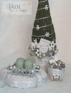 Jade, Xmas, Christmas Tree, Snow Globes, Home Decor, Teal Christmas Tree, Decoration Home, Room Decor, Christmas