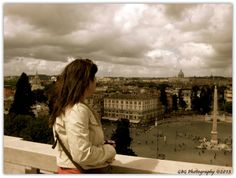 One of my favorite spots to get a breathtaking view of Rome's city center.  Don't miss the photo op!