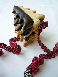 Christmas Tree Cookies, Christmas Cookies, Cookie Jars, Crochet Necklace, Food And Drink, Breakfast, Holiday, Recipes, Crochet Collar