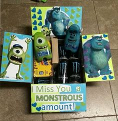 The Monstrous University Care Package | Here's a great going away gift. #DIYReady DIYReady.com