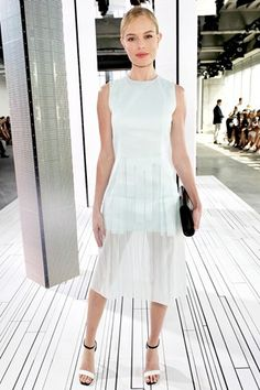 New York Fashion Week front rows - Kate Bosworth