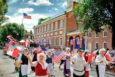 Independence Hall in Philly. Get free tickets at the visitor center or buy in advance for a $1.50 fee per ticket.