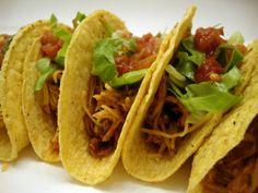 Crockpot Cilantro Lime Chicken (tacos)