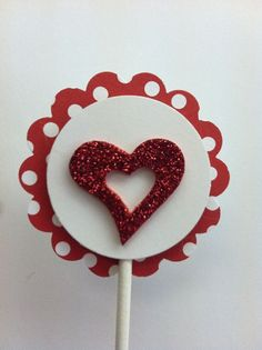 valentines day cupcake toppers