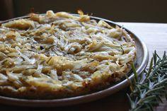 Onion and Rosemary Tart