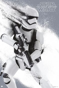 star wars force awakens poster stormtrooper Star Wars 7 Gets More Promo Images & Early UK Release Date