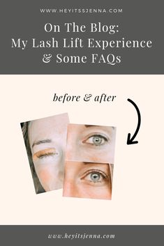 All about lash lift experience! Sharing how to prep for your lash lift and last tint appointment and what to expect after! Eyelash Tinting, Eyelash Serum, Eyelash Growth, Eyelash Curler, Lash Up, Lash Lift, Longer Eyelashes, False Eyelashes, Mascara Review