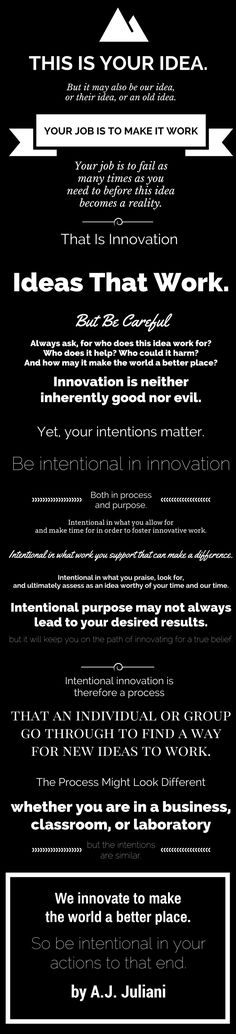 The Intentional Innovation Manifesto - A.J. Juliani