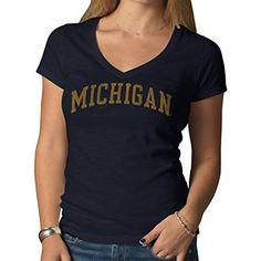 NCAA Women's '47 Brand Basic V-Neck Scrum Tee – Detroit Sports Outlet