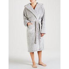 Buy John Lewis Hi Pile Fleece Robe, Nude Pink from our Women's Nightwear range at John Lewis & Partners. Pjs, Nightwear, John Lewis, Lounge, Sleep, Long Sleeve, Christmas, Stuff To Buy, Navidad