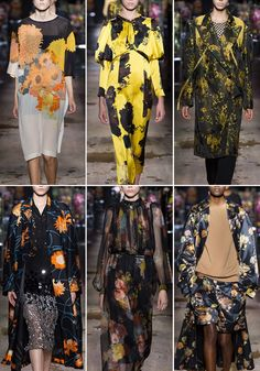 Paris Fashion Week – Spring/Summer 2017 – Print Highlight – Dries Van Noten
