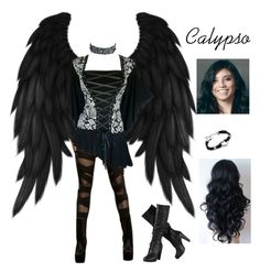 """""""Hidden Angel - Calypso (Chapter 1)"""" by sammie2244 ❤ liked on Polyvore featuring Antiquities Couture, women's clothing, women, female, woman, misses and juniors"""