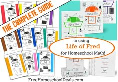 THE COMPLETE GUIDE TO USING LIFE OF FRED IN YOUR #HOMESCHOOL --> --> plus awesome LOF savings from #sponsor @educents!!