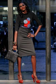 Stephen Burrows Fall 2012 Ready-to-Wear Collection Photos - Vogue