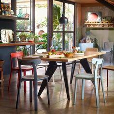 - All Plastic Chair Stuhl - VITRA plein de belles couleurs 219€