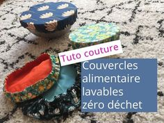 - Bottle Crafts - Tuto : couvercle alimentaire lavable Sewing tutorial to sew washable food cover or charlottes. Ideal to continue the zero waste approach. Sewing Patterns Free, Free Sewing, Sewing Hacks, Sewing Tutorials, Sewing Tips, Sewing Projects For Beginners, Diy Projects, Creation Couture, Couture Sewing