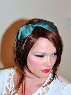 Green Bow Headband by lucymir, $9.99