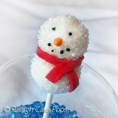 Our 2012 Snowman Cake Pops
