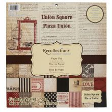 Recollections Signature Union Square Paper Pad
