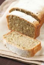 Grain free coconut loaf - GrownUps New Zealand Healthy Cake, Healthy Treats, Healthy Baking, Cake Au Miel, Coconut Flour Bread, Coconut Oil, Good Food, Yummy Food, Happy Foods