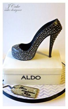 I <3 Shoes Cake