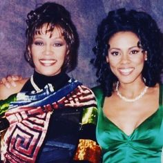 #tbt Happy Birthday beautiful Whitney she would have been 54. I'll always cherish our friendship ❤️and time together. They'll never be another #whitneyhouston #thevoice We'll always love you...Rest my friend.