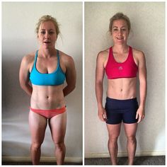 Before and After photos of The Whole 30 and Crossfit. I hope this works for me. Only 29 days to go! lol