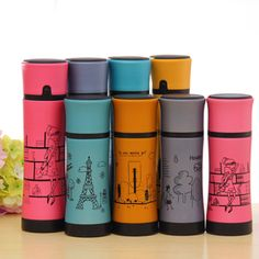 Aliexpress.com : Buy Sales promotion Scrub vacuum cup portable stainless steel lovers thermos 2527 from Reliable portable stainless steel bb...