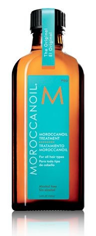 Moroccan Oil- The best stuff ever!  Keeps our hair healthy and shiny and smelling great!