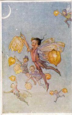 Margaret Tarrant Starlight Elf Fairy Fairies Childrens Artist Signed Card 1938   eBay