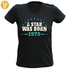 Damen Shirt 40. Geburtstag 40 Jahre Geschenk T-Shirt Tshirt Geburstagsgeschenk Birthday - Shirts zum 40 geburtstag (*Partner-Link)