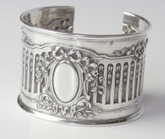 Antique French Silver Bracelet