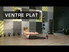 Fitness Master Class - Ventre Plat - Lucile Woodward - YouTube