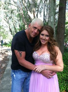 Golddust and his daughter Dakota..... Wow How Time Has Gone By....