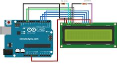 16x2 LCD Display interface with Arduino