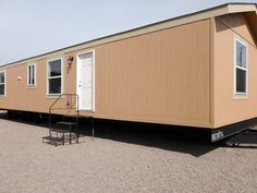 This bantam sized manufactured home might be part of the single section family, but that doesn't mean it falls short on elbow room. Single Wide Mobile Homes, Floor Plans, Room, Bedroom, Rooms, Floor Plan Drawing, Rum, House Floor Plans, Peace