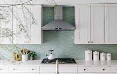 Hex is too big I think  Design & Inspiration Tile Gallery | Fireclay Tile