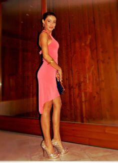 Gatta Vaidosa: Meu look: Vestido mullet! #look