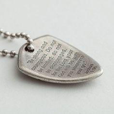 Shield Of Faith Bible Verse Necklace