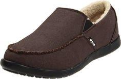 crocs Men's Santa Cruz Lounger Slip-On,Expresso/Black,12 M US crocs,http://www.amazon.com/dp/B004M8NP9Y/ref=cm_sw_r_pi_dp_g-nQsb0DF60F3BRG