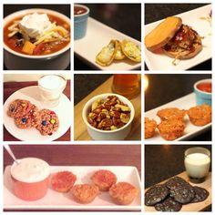 SUPER BOWL PARTY FOOD ROUNDUP | gluten free, vegan, vegetarian, paleo super bowl food and snacks