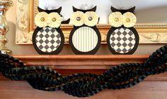 Crafty Sisters: Halloween Owls